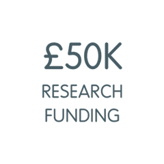 £50K research funding